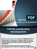 Tatva Leadership - Leadership development program Pune