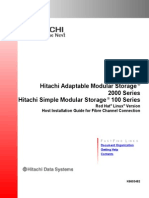 Hitachi Adaptable Modular Storage 2000 Series