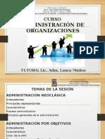 ADMINISTRACION DE ORGANIZACIONES