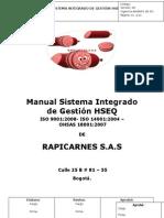 Formato Guia Manual Hseq Normas