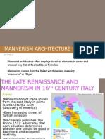 Lec-11 Mannerism Architecture