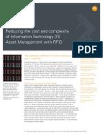RFID IT Asset Management Application Brief