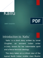 Kallu by ismat chughtai