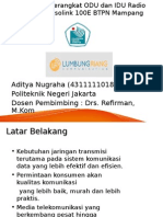 Pemasangan Perangkat ODU Dan IDU Radio Microwave IPasolink 100E BTPB Mampang