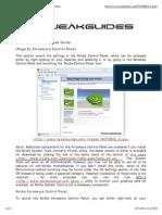 TweakGuides.com - Nvidia Forceware Tweak Guide