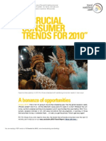 10 Crucial Consumer Trends for 2010