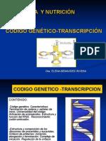 (02-OCT-14) 6C. Código Genético Traducción