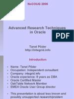 Advanced Research Techniques