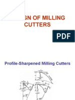 Design of Milling Cutters1