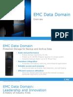 EMC Data Domain Technical Overview