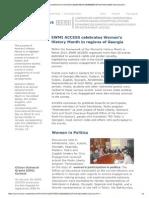 EWMI ACCESS newsletter  - March 2015