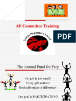 AF Committee Training