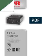 Install Guide for LED Programme Model 5714V103_UK