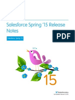 Salesforce Spring15 Release Notes
