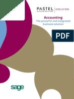 Sage Evolution Accounting Brochure