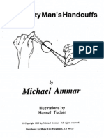 Michael Ammar - The Crazy Man's Handcuffs