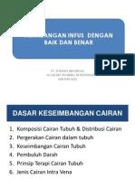 Pelatihan Pemasangan Infus-jakarta Januari 2015