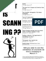 Scanning Reading
