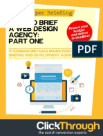 How to Brief a Web Design Agency Part 1
