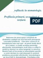 Lectia 1 an.ii Profilaxia