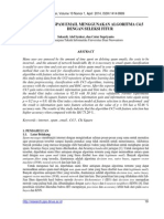 Klasifikasi Spam Email Algoritma c4.5