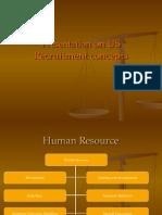 Recruitment US 1