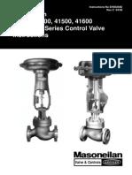 Masoneilan 41300 Control Valve Instructions