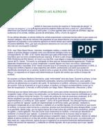 Entendiendo Las Alergias - Nueva Medicina Germánica (NMG)