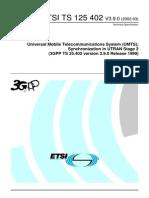 3GPP Synchronisation