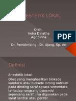 PPT Anestetik Lokal