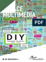 Espace multimédia /printemps-été 2015