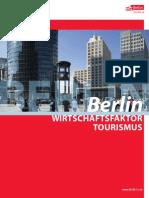 Wirtschaftsfaktor Tourismus Berlin