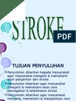 Dara ; Penyuluhan Stroke