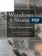 Transtro¦êmer, Tomas - Windows and Stones (Pittsburgh, 1972)