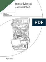 Maintenance Manual AK200