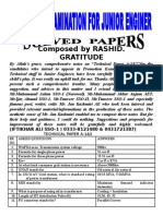 SolvedTechnical Papers by Iftikhar