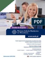 Informator 2015 - studia II stopnia - Wyższa Szkoła Bankowa we Wrocławiu.pdf