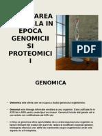 CERCETAREA+IN+EPOCA+GENOMICII+SI+PROTEOMICII