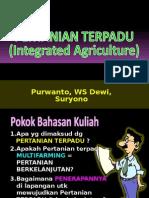 Sistem Pertanian Terpadu