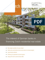 Capital Value (2014) Interest of German banks in Dutch residential RA