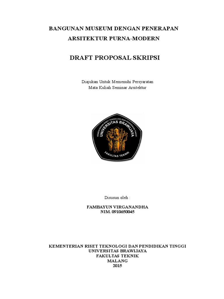 Proposal Seminar Arsitektur