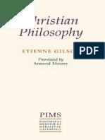 Étienne Gilson, Armand Augustine Maurer, Pontifical Institute of Mediaeval Studies-Christian philosophy_ an introduction-Pontifical Institute of Mediaeval Studies (1993).pdf
