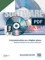 Simpati oven control software discription