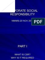 Corporatesocialresponsibility himanshu mirdha