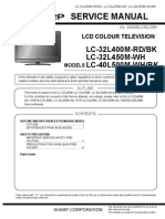 Sharp Lc 32l450m