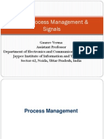 Linux Process Management & Signals