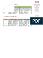 term dates 2015