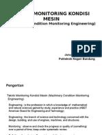 Pembukaan Teknik Monitoring Kondisi Mesin