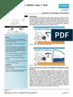Monitoring Power Windows Sensor Vehicle