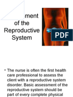 Assesment of the Reproductive System